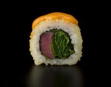 Острые суши с тунцом (запечённые) 10тк