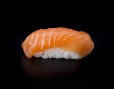 Salmon, rice