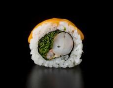 Острые суши с королевскими креветками 10тк