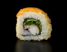 Острые суши с королевскими креветками (запечённые) 10тк