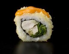 Острые суши с курицей (запечённые) 10тк